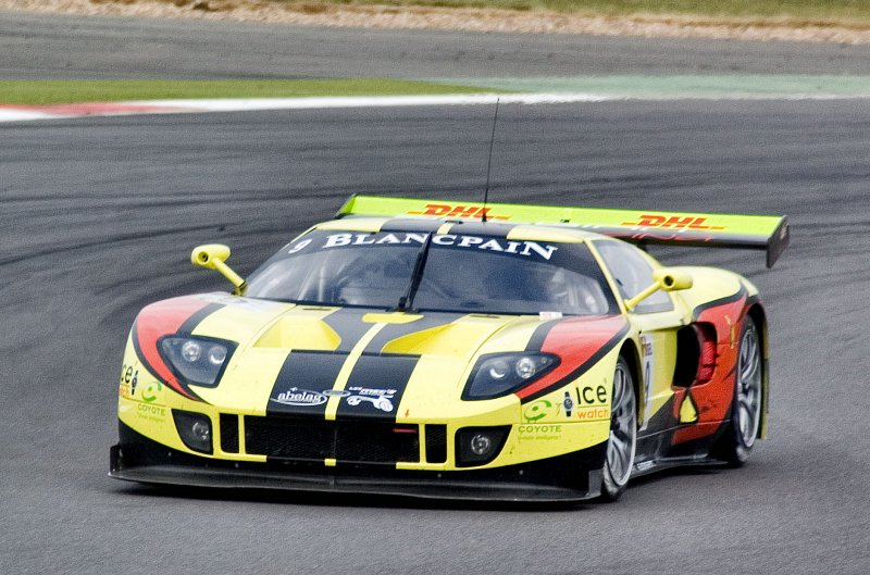 Ford GT in GT1 at Silverstone, 2011
