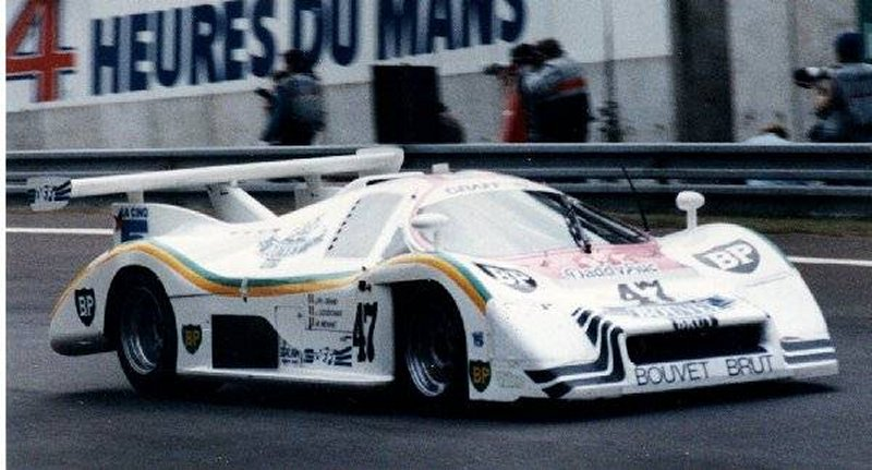 A late model Rondeau at Le Mans